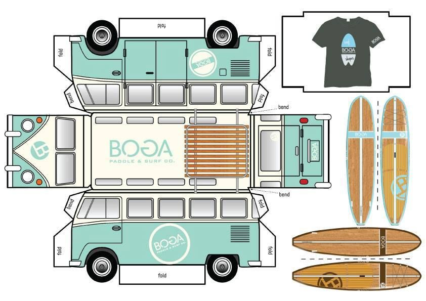 Boga #VW bus cutout  So cool! #paddleboard #SUP | Surf's