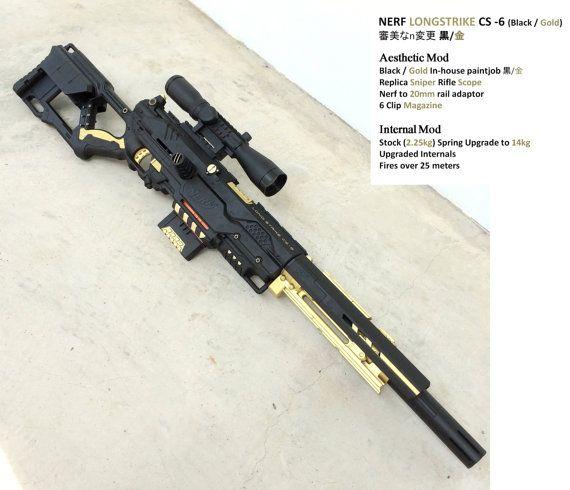 Steampunk Gun Nerf Gun Mod gun cosplay weapon: customised large 28