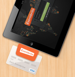 Eventbrite's New iPad Credit Card Reader Allows Event
