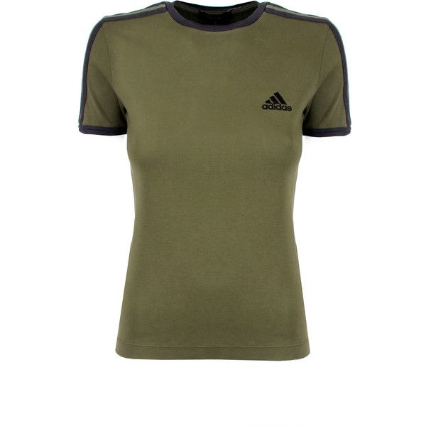 e6cf258009080 Yeezy SEASON 5 Baby Adidas T-Shirt ( 240) ❤ liked on Polyvore featuring  tops