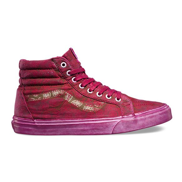 1d3be3bde65361 The Overwash Paisley Sk8-Hi Reissue