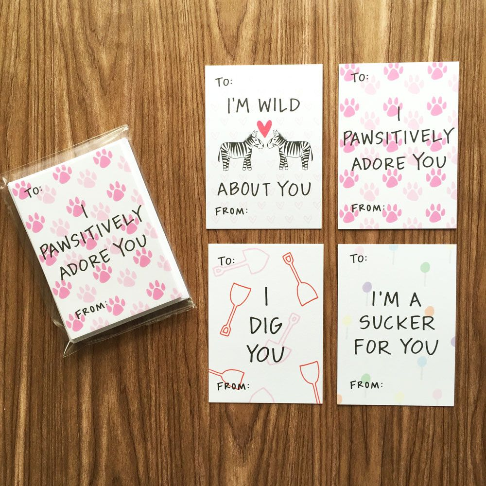Sweet Sayings Mini Valentine S Day Assorted Card Pack Valentine Day Cards Valentines School Valentines