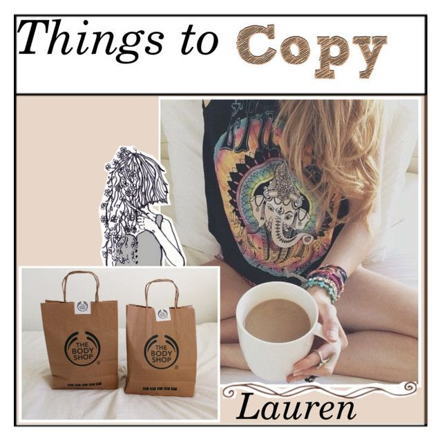 """Things to copy"" by babyskater ❤ liked on Polyvore featuring art"
