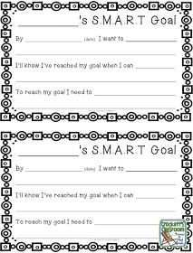 SMART GOALS FOR STUDENTS PDF