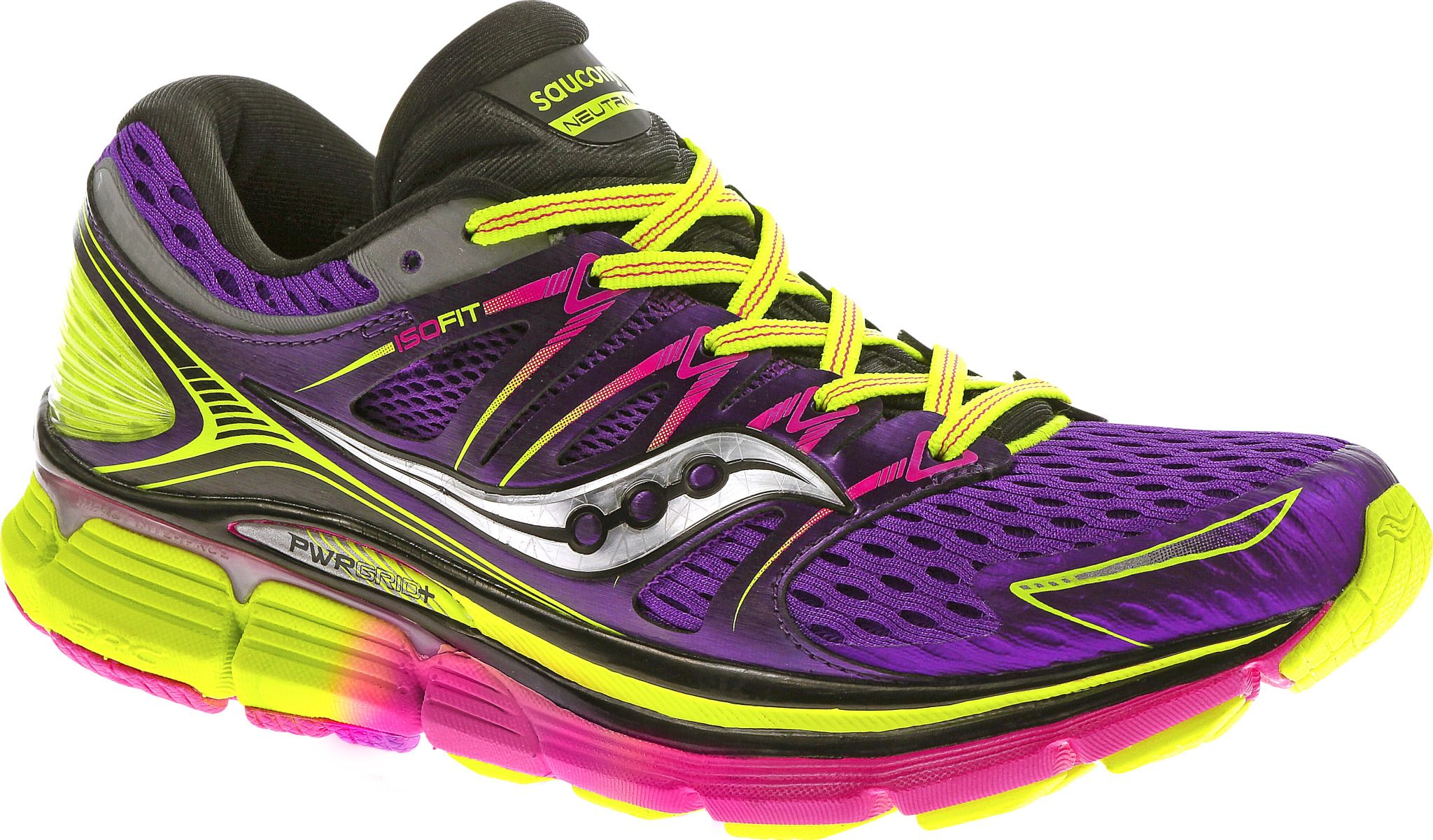 saucony women's triumph iso | iso fit neutral high cushion running