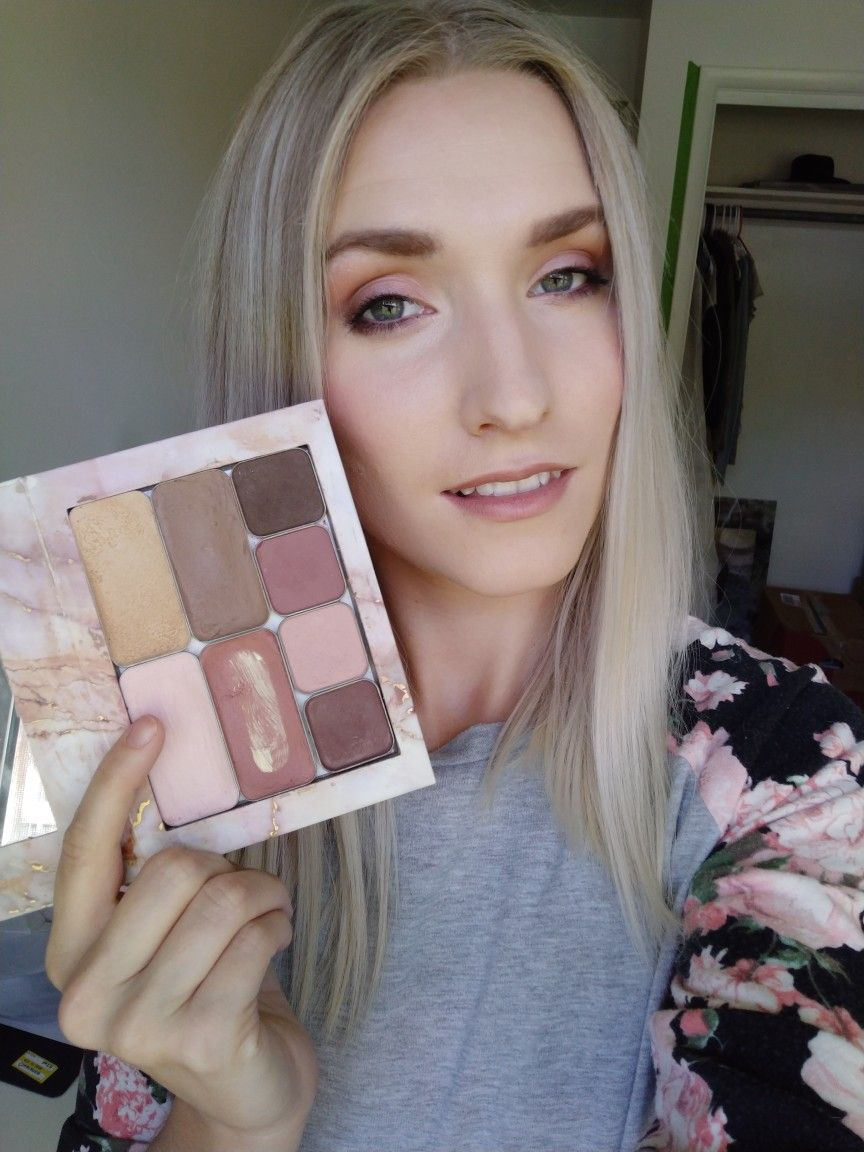 One palette=full face! Minimal makeup! Maskcara beauty