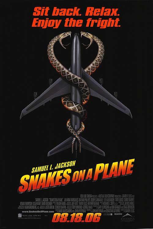 Snakes On A Plane 2006 Snake Drama Movies Original Movie Posters