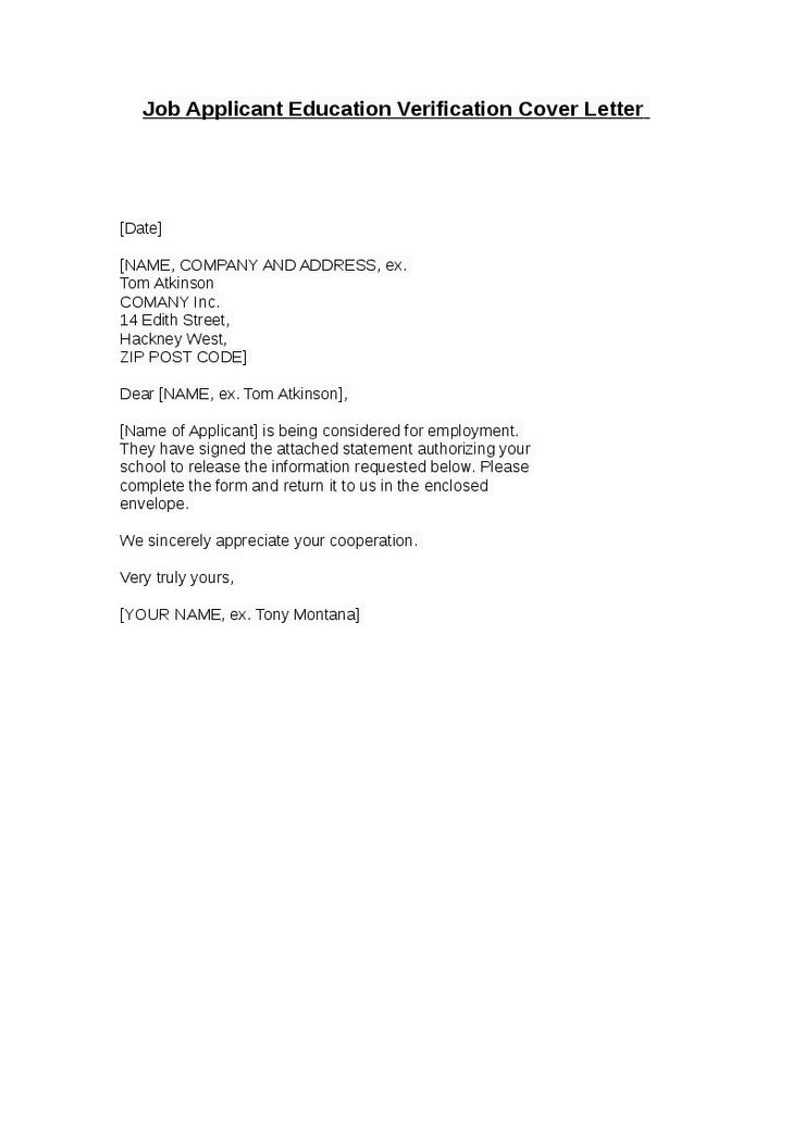 sample application letter for work experience cover templates job - employment letter example