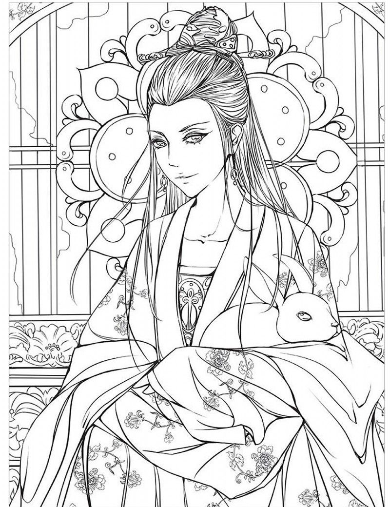 Pin By Clare Burch On Lineart And Anime People Coloring Pages Love Coloring Pages Coloring Pages For Girls