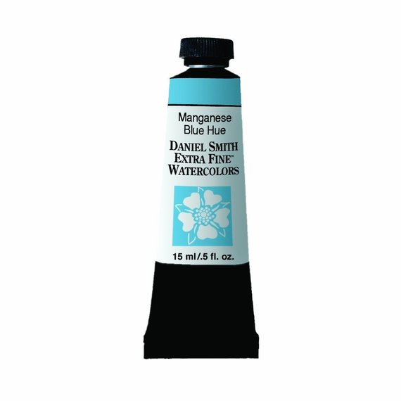 Daniel Smith Manganese Blue Hue Watercolor Paint 15ml Paint Tube