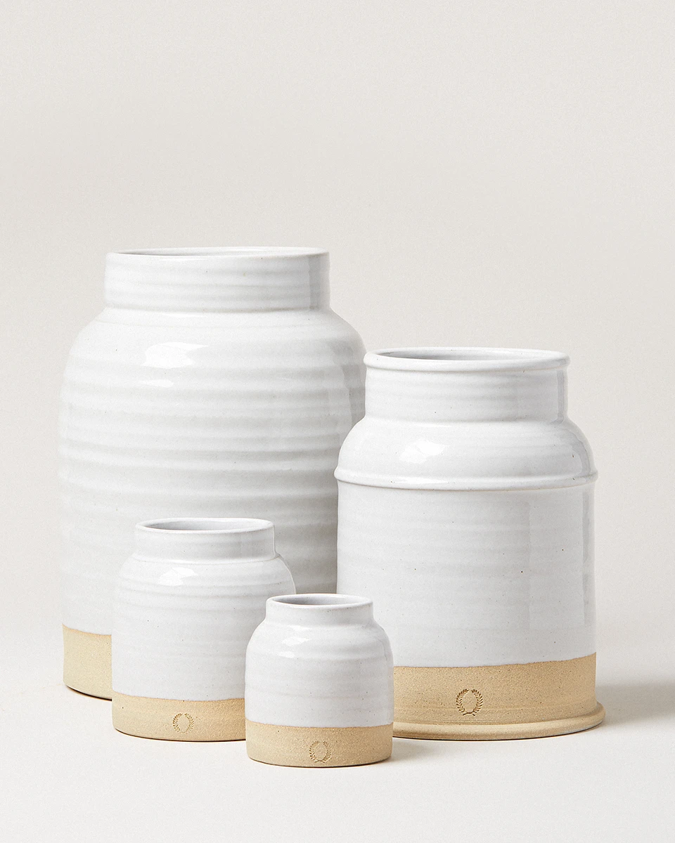 Milk Jug Vases In 2020 Milk Jug Vase Jug Vase Farmhouse Pottery