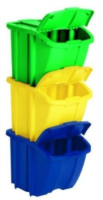Recycle Bins For Home Create A Home Recycling Center To Make It Easy To Go Green  Storage