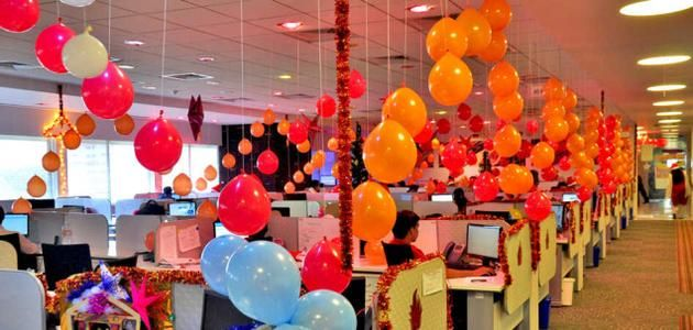 Image result for office festival decoration | Xmas ...