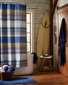 Great Pottery Barn Teen (pbteen) I Like The Curtain, Can We Use A Clothe Shower  Curtain On Plumbing For Window?