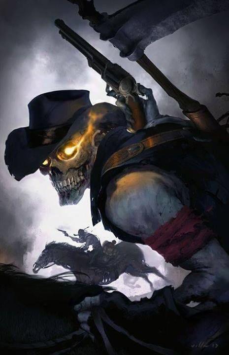 Skeletal CowBoy
