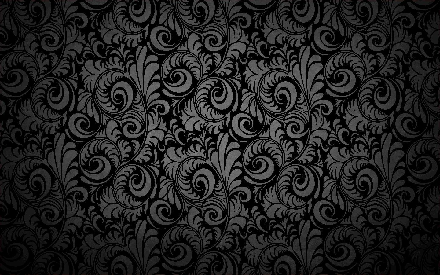 Dark Vintage Pattern Wallpaper Desktop Backgro 9767 Wallpaper