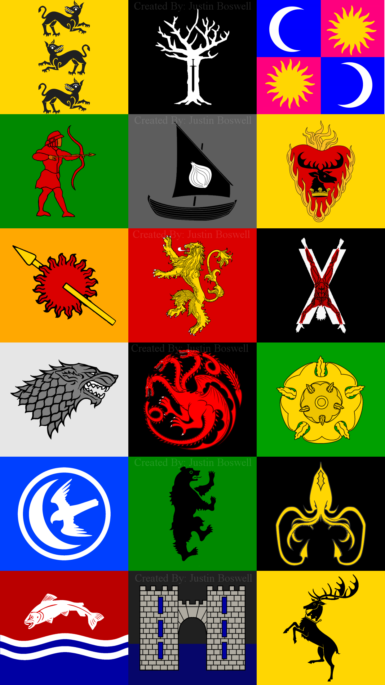 Game of Thrones iPhone 7 plus House Sigil Wallpaper Houses