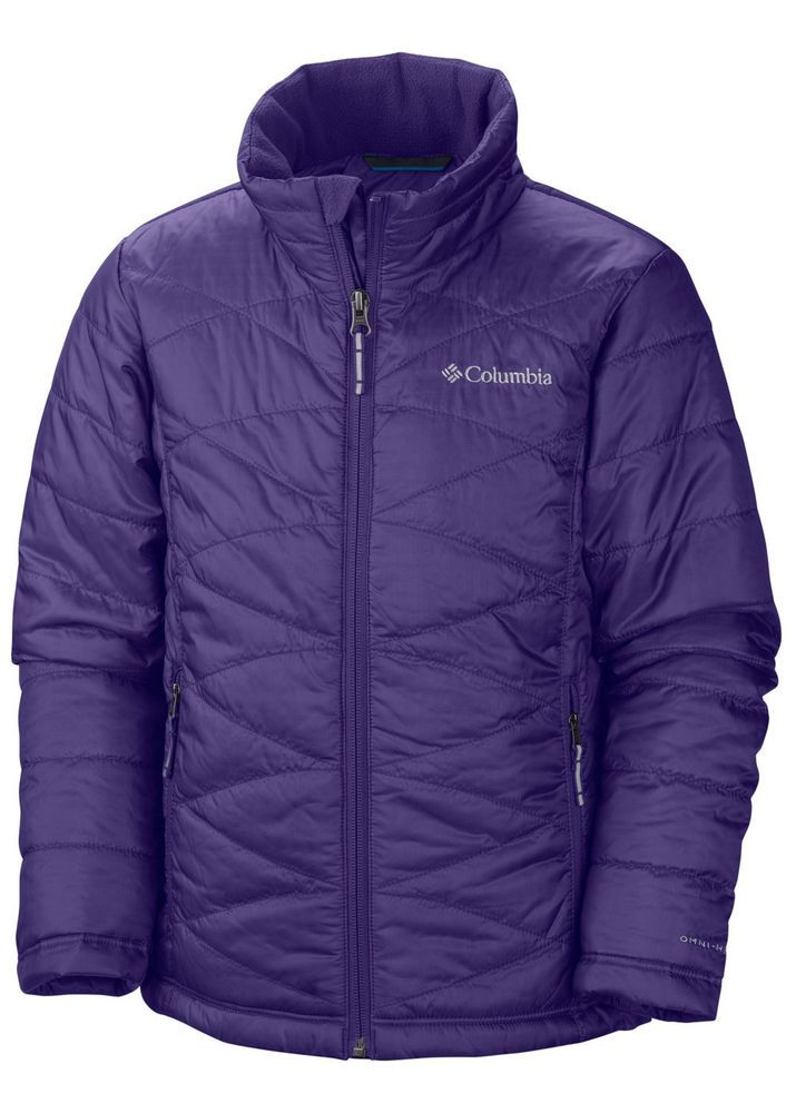 Columbia Girls M 10 12 Mighty Lite Omni Heat Insulated Winter Jacket Winter Jackets Columbia Girls Jackets