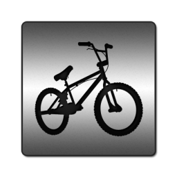High Handle Bike Icon Bike Icon Travel Icon Bike