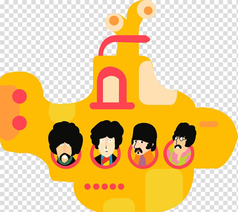 The Beatles First Love Yellow Submarine Musical Ensemble Others Transparent Background Png Clipart Free Clip Art Clip Art The Beatles