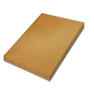 Qep 2 Ft X 3 Ft X 1 4 In Cork Underlayment Sheet 30 Sq Ft 5 Pack 72005q Cork Underlayment Underlayment Flooring Underlayment