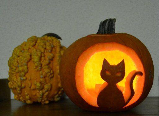 C mo tallar una calabaza original para halloween saca tu - Como vaciar una calabaza ...