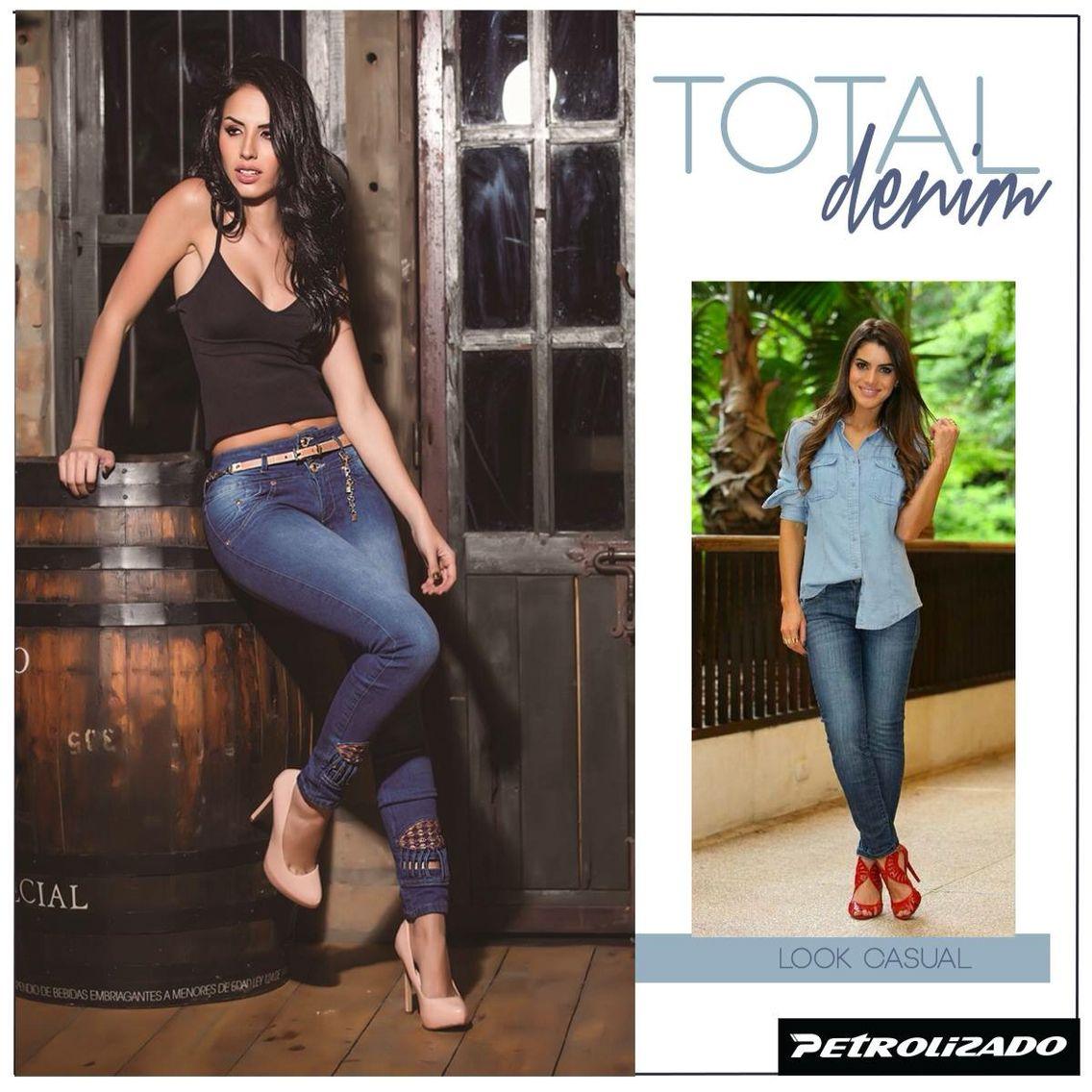 Hoy es Jueves, #Jueves de #denim  #totaldenim  con #PetrolizadoJeans