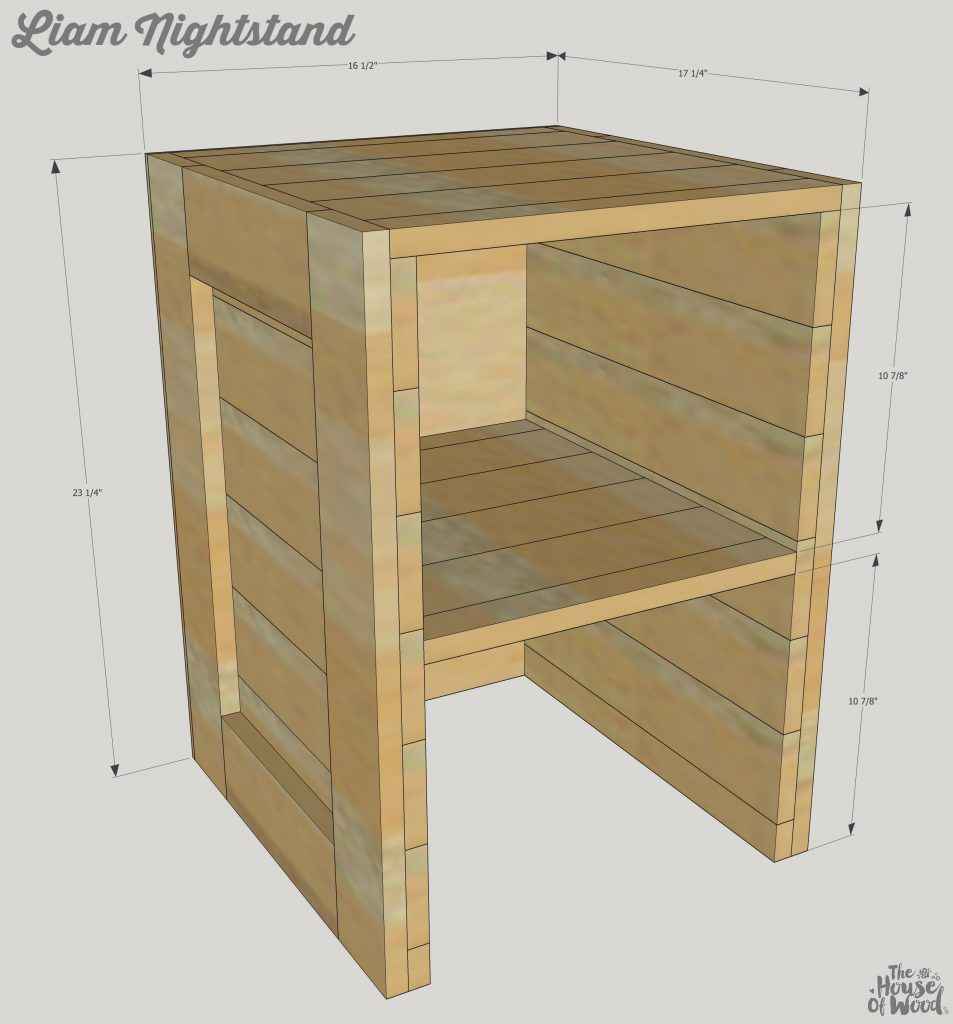 how to build rustic furniture. How To Build A DIY Rustic Cargo Nightstand Furniture S
