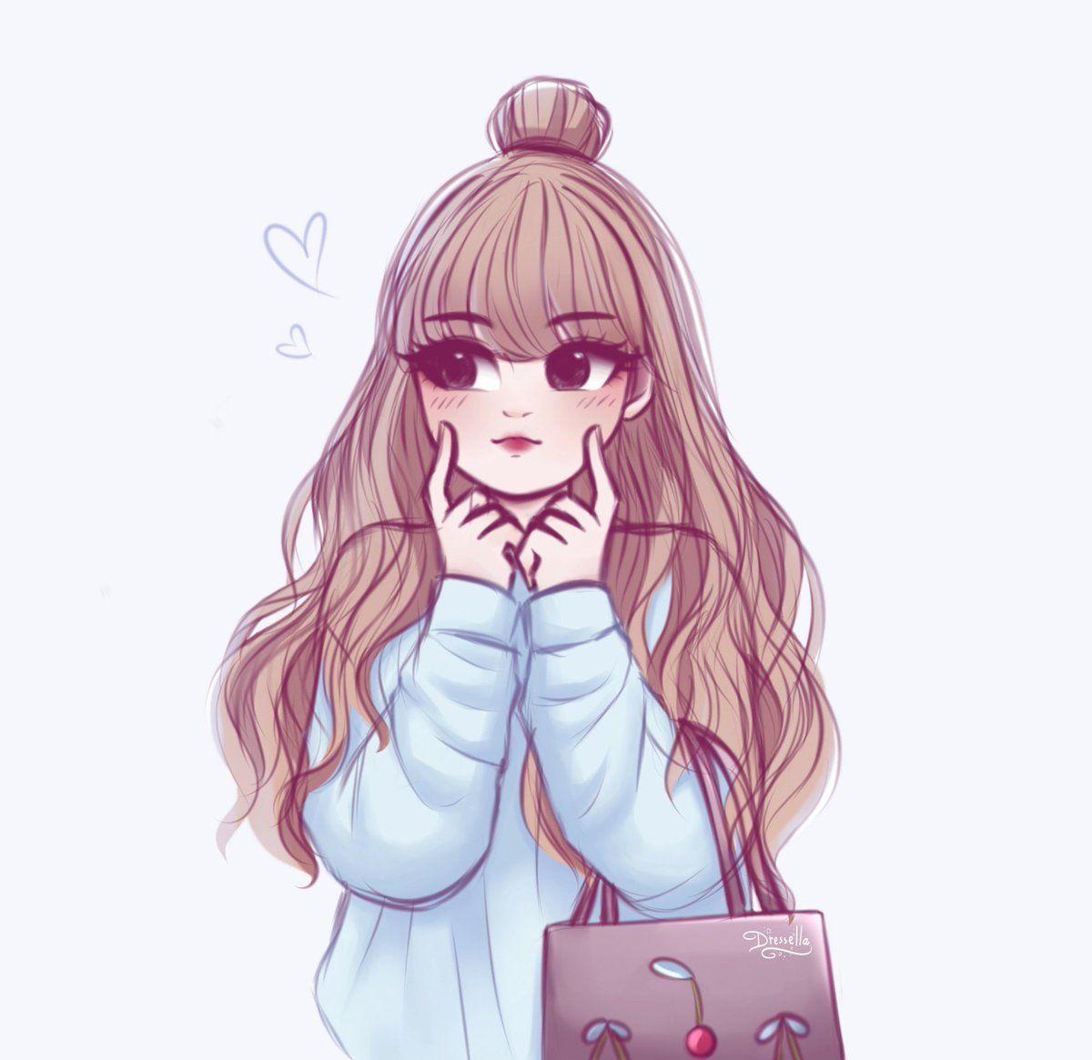 Blackpink Hashtag On Twitter Lisa Blackpink Wallpaper Blackpink Cute Girl Drawing