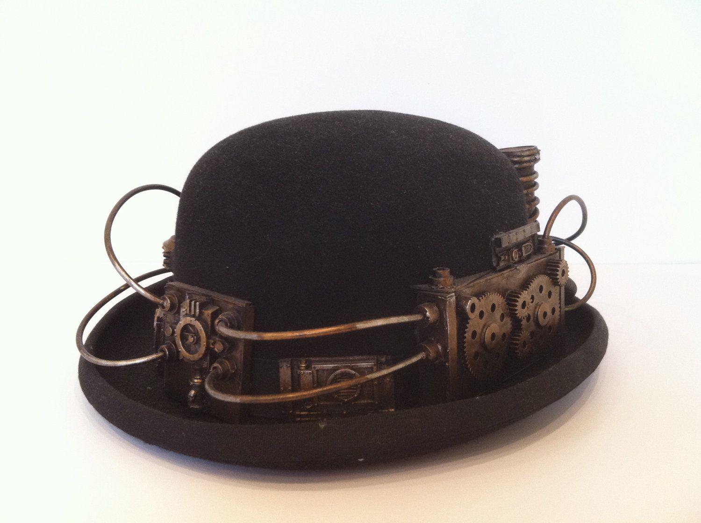 steampunk bowler hat..  80.00 6d13ab748d1