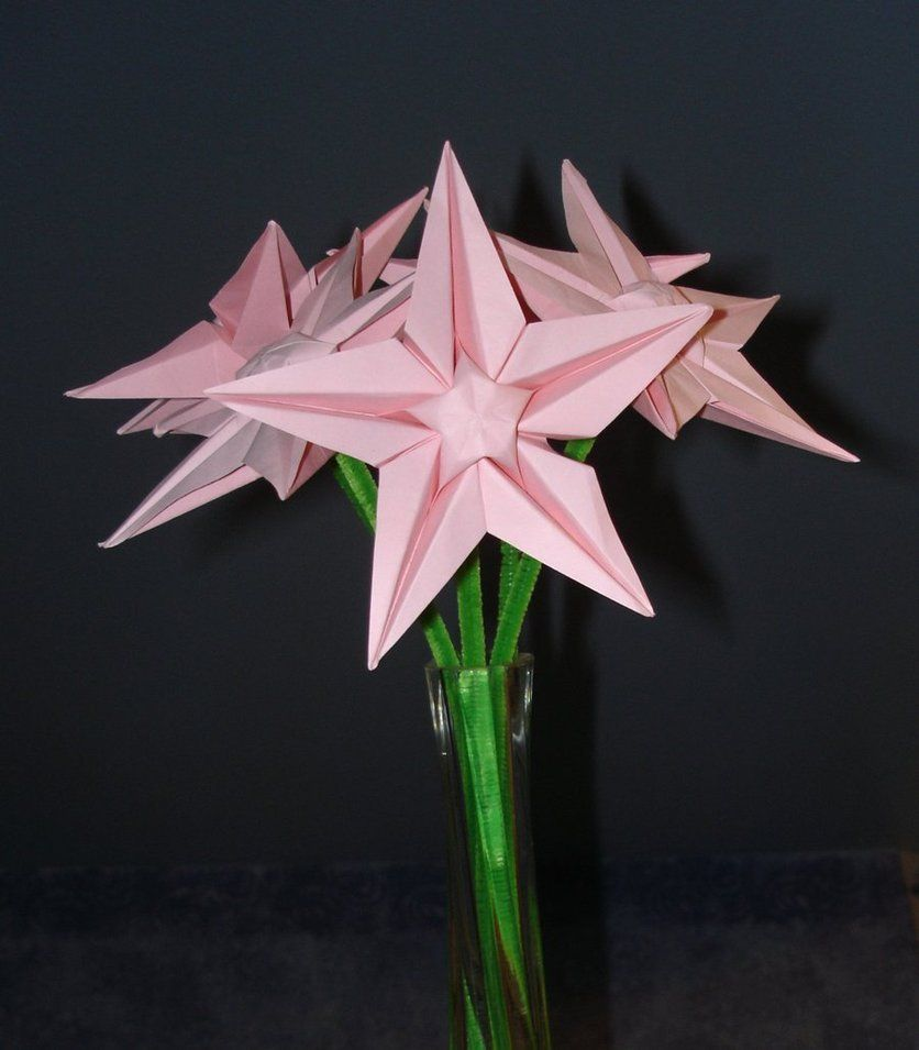 Cant Find These Instructions Origami Flores Y Plantas
