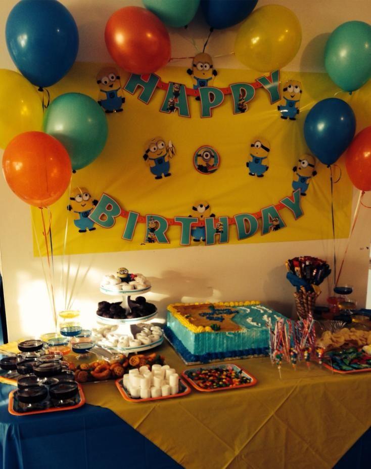 Minions Birthday Party Ideas Minion Party Boy Birthday Parties