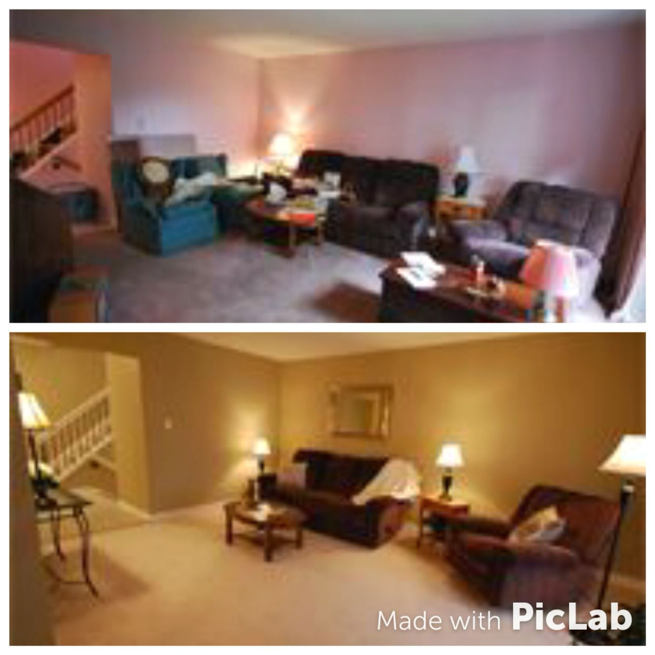 Rearranging Furniture Before And After Changing The Paint Colour And Rearranging Furniture Is The Easiest Way To  Change The Look Of Any Room. Lift Home Staging And Design Before And After
