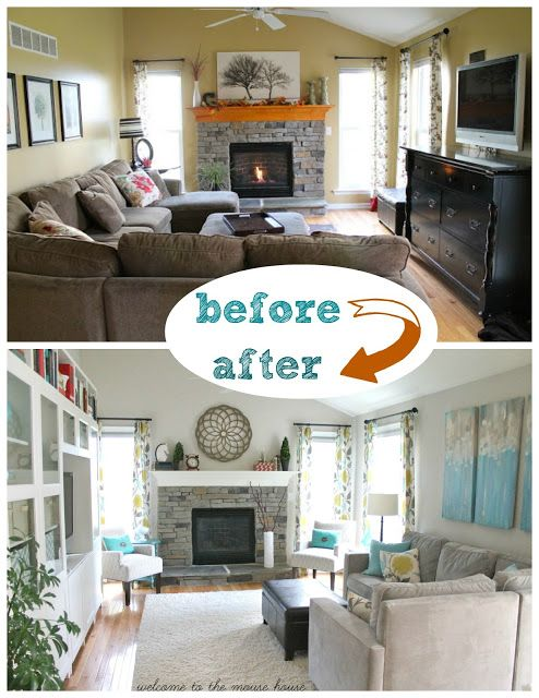 Welcome to the Mouse House The NEW Family Room Reveal! Decorating
