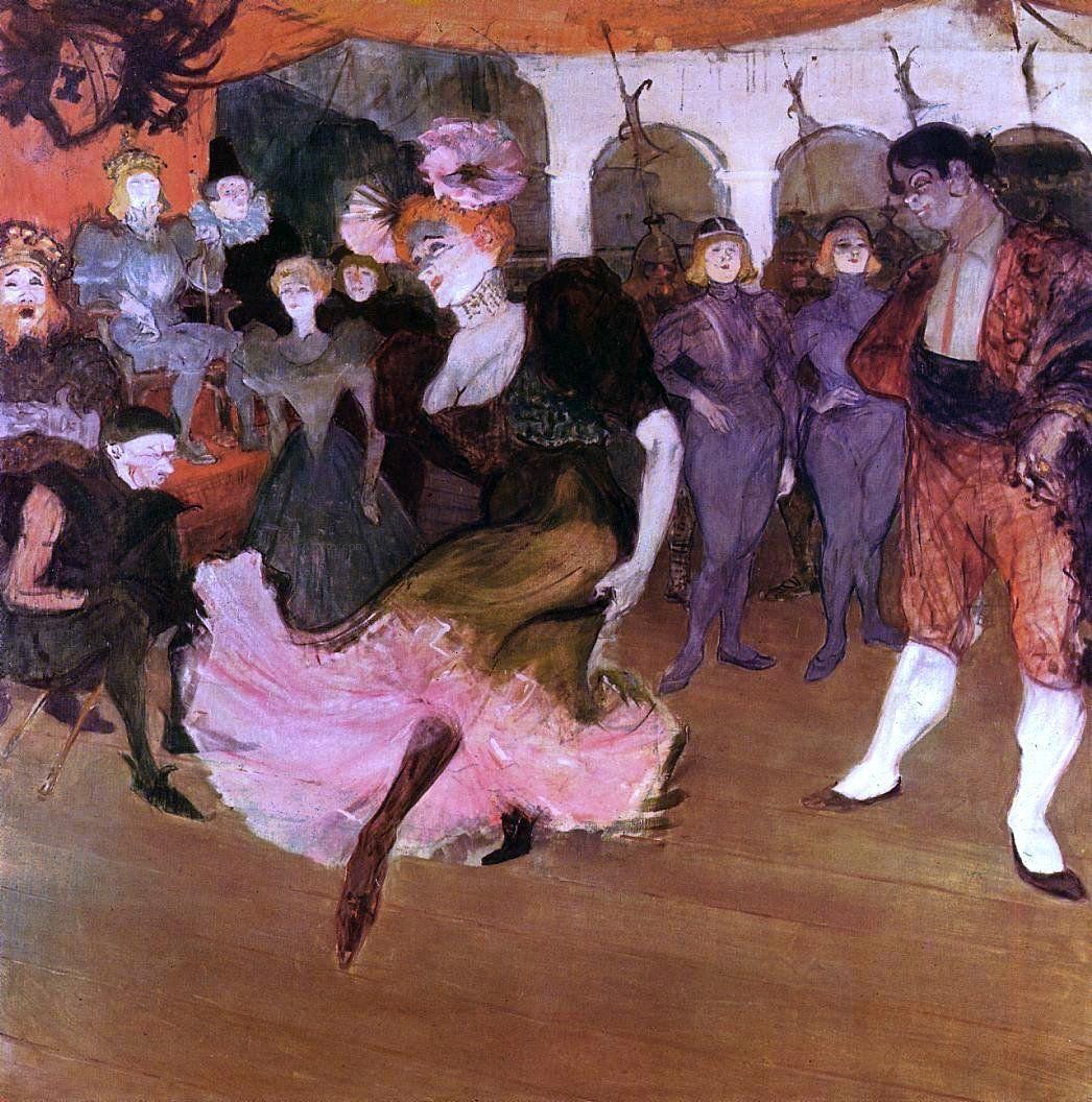 """Henri de Toulouse-Lautrec /""""Marcelle Lender Dancing the Bolero/"""" — Fine Art Print"""