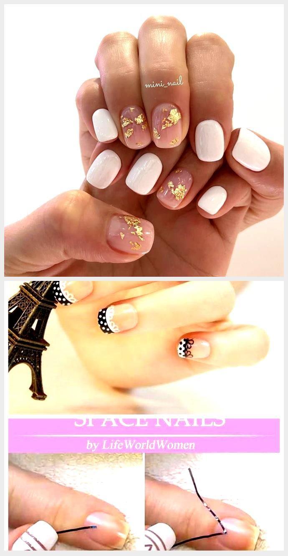50+ Gorgeous White Nail Art Design,  #Art #Design #gorgeous #Nail #white