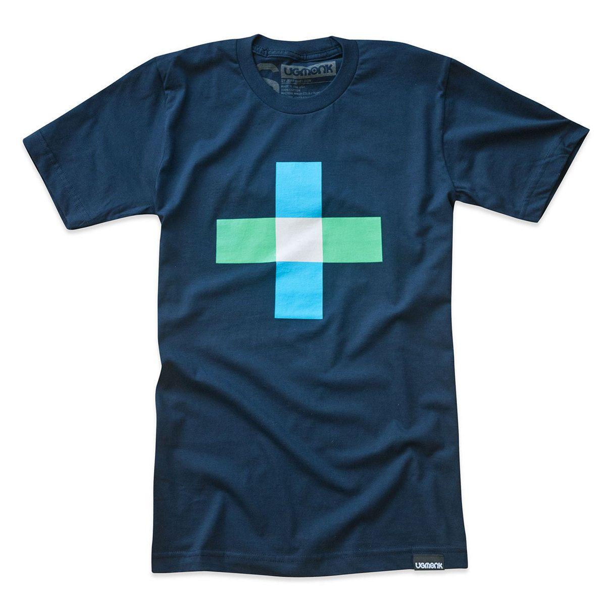 Plus Minus Tee Blue Kaos, Desain, Inspirasi