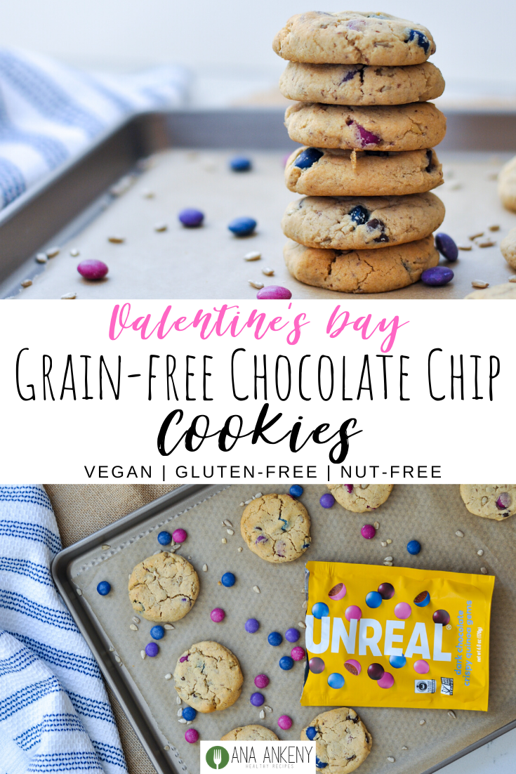 Unreal Grain Free Chocolate Chip Cookies