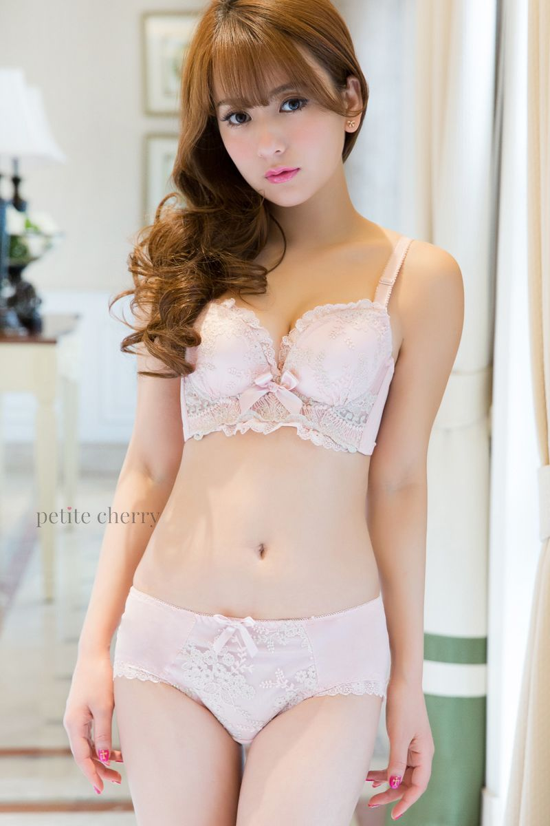 014cc7657 Pretty and cute Japanese lingerie bra and panty set from  petitecherry