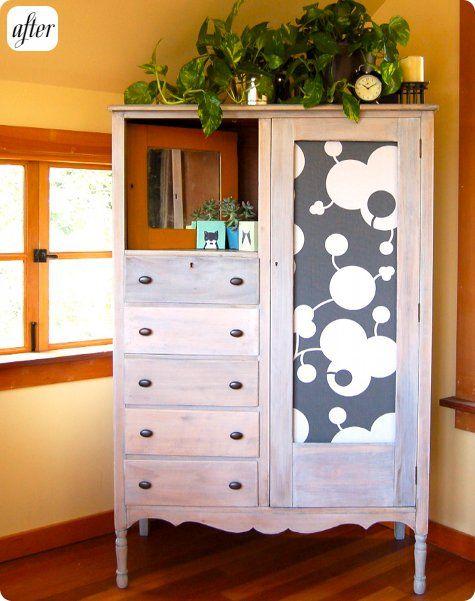 grey + white pattern