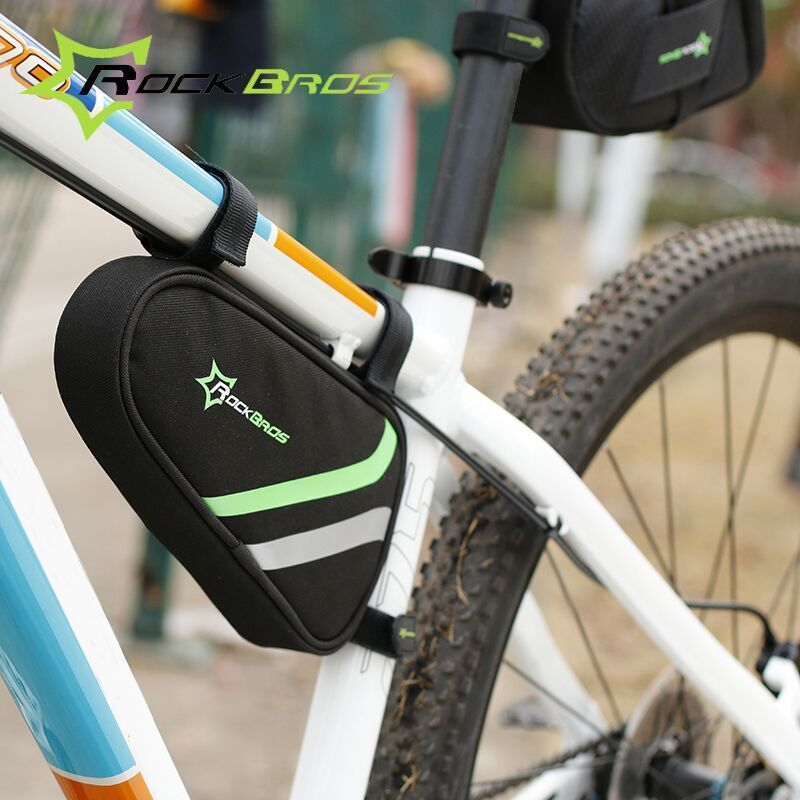 Rockbros Outdoor Triangle Cycling Bike Bag Accessories Bicycle Repair Tool Frame Front
