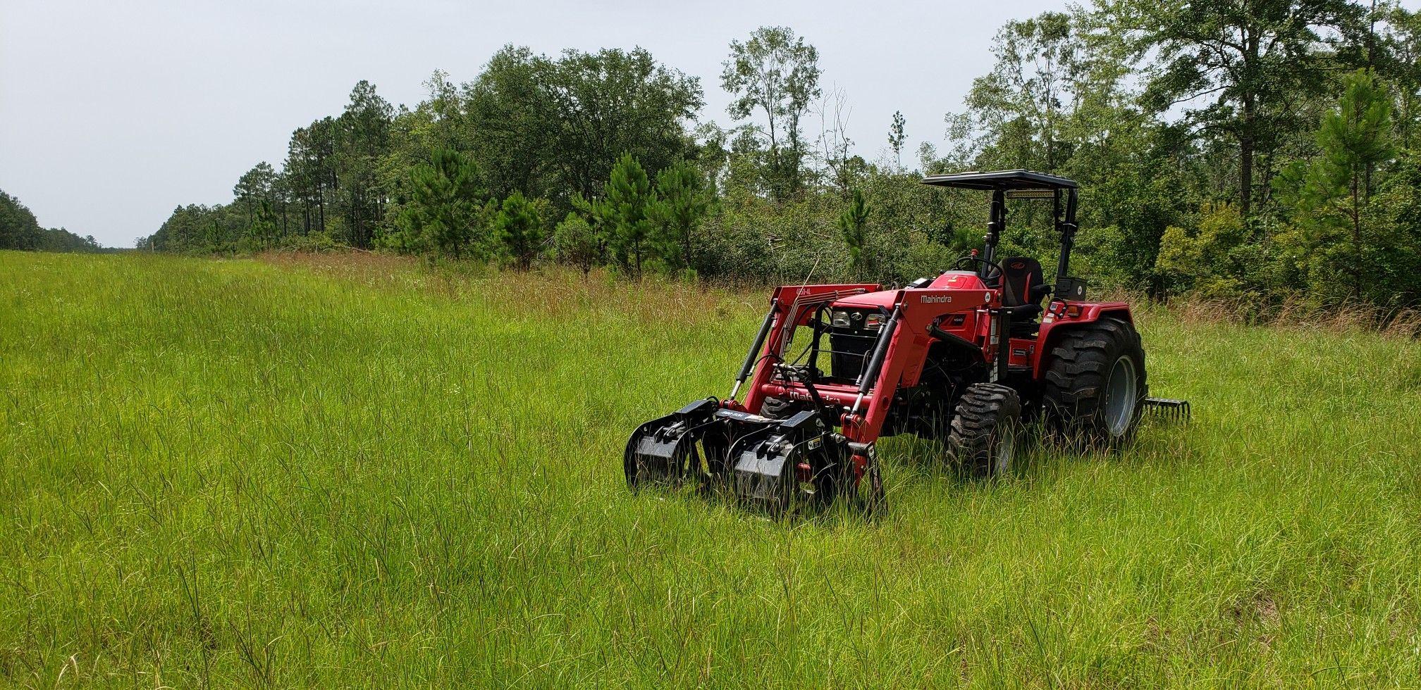 Mahindra 4540 Tractors Heavy Equipment 4wd