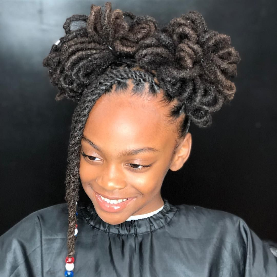 2 Petal Buns Queen Ladyybug Done At Karibbeankinks Natural Hair Salon Text 301 996 1285 Locat Hair Styles Natural Hair Styles Natural Hair Salons