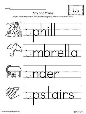 Early Childhood Alphabet Worksheets | Worksheets, Alphabet ...