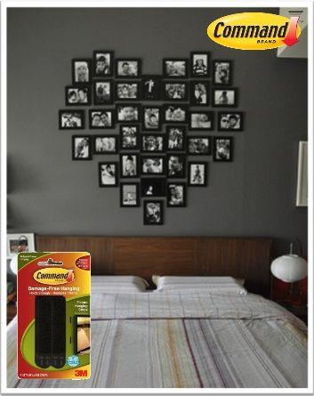 las tiras para cuadros command te ayudan a decorar de forma diferente tu cuarto haz