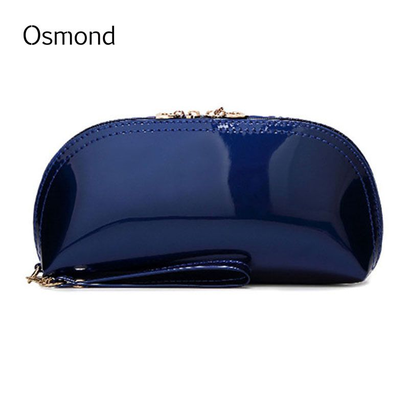 Leather · Osmond High Quality PU Leather Cosmetic Bag Make Up Bag Toiletry  Zipper Bag Cosmetic Pouch For. Clutches   Evening BagsZipper ... 382521ccd7