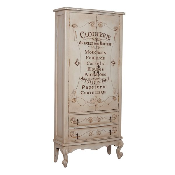 Lingerie Armoire Ships Free, French Style Furniture