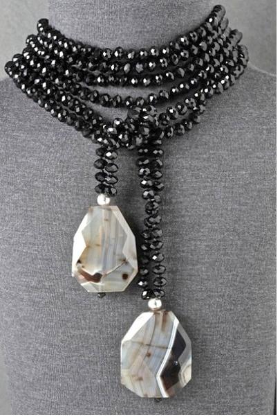 Photo of Toya de Carlos… handmade jewelry with semi precious stones #makejewelrywithsto…