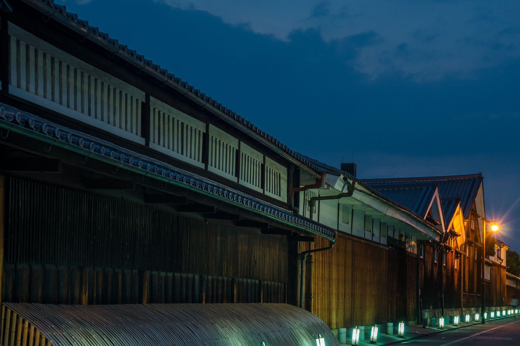 伏見の酒蔵ライトアップ / Fushimi no Sakagura