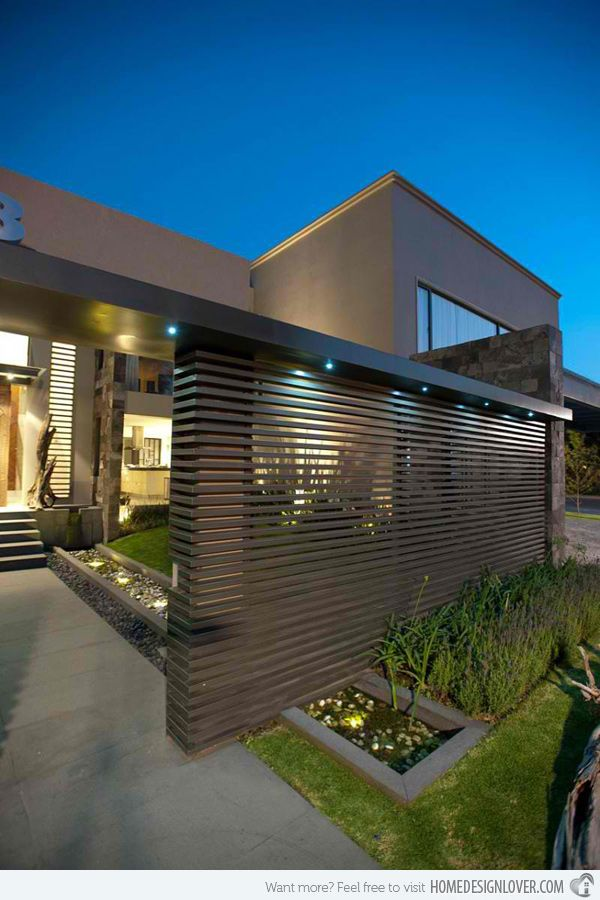 The Modern Contemporary Casa LC In Mexico City. Decorative ScreensGate  DesignEntrance DesignHouse ... Part 68
